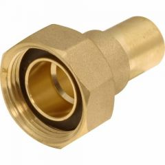 """Gas Meter Union 22mmx1"""" Grooved"""