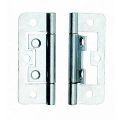 Flush Hinge ZP 63mm (x2) - Dalepax - DX40563
