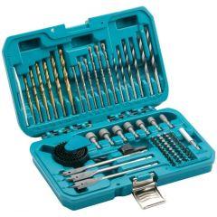 Makita 75 Piece Combination Drill Bit & Holesaw Kit - P-90641