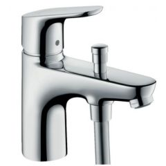 Hansgrohe Focus Monotrou Bath & Shower Mixer with Crometta 85 Hand Shower - 88100455