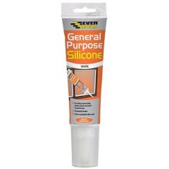 Everbuild Easi Squeeze General Purpose Silicone - White