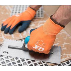 OX Foam Thermal Glove 100% Waterproof (Orange) Size 9 - S483909