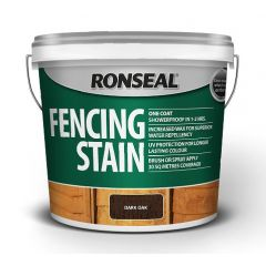 Ronseal Fence Stain 5L Dark Oak