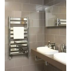 Vogue Vela Towel Rail Chrome 950x500mm