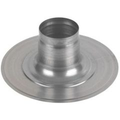 Ideal Weather Collar Flat Roof 100 dia - 152259