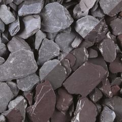 Plum Slate 40mm 25kg Poly Bag