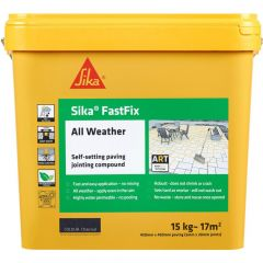 Sika All Weather FastFix Jointing Compound 15kg Charcoal - SKFFIXCHRL16