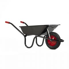 Haemmerlin 9004 Camden Classic Wheelbarrow W/ Pneumatic Tyre Black 85L