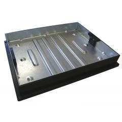 Recessed Manhole Cover and Frame 600x450x80mm 10T
