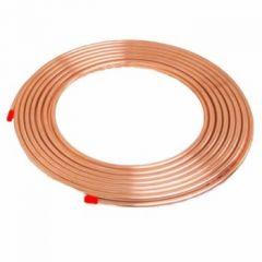 Minibore Copper Tube 8mmx25m Coil