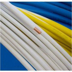 Coil Insulated Copper Tube Various Lengths & Bores