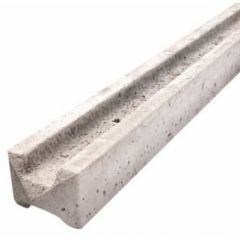 Concrete Slotted Intermediate Fence Post (Wetcast)