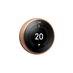 Nest Learning Thermostat - 3rd Generation-Copper