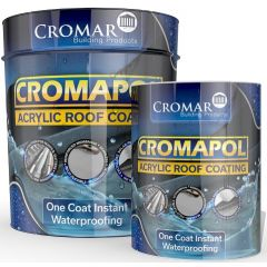 Cromar Cromapol Acrylic Roof Coating Black 1kg