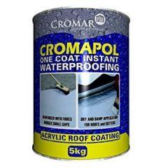 Cromar Cromapol Acrylic Roof Coating Black 2.5kg