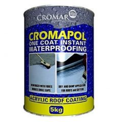 Cromar Cromapol Acrylic Roof Coating Grey 1kg
