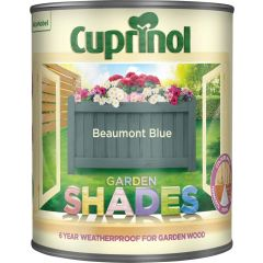 Cuprinol Garden Shades 1 Litre Beaumont Blue