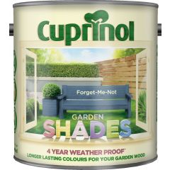 Cuprinol Garden Shades 1 Litre Forget-Me-Not