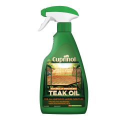 Cuprinol Natural Enhancing Teak Oil-500ml Sprayable