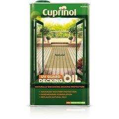 Cuprinol UV Guard Decking Oil 5 Litres Natural Pine