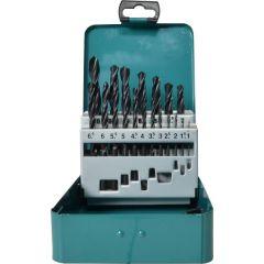 Makita 19 Piece HSS Drill Bit Set