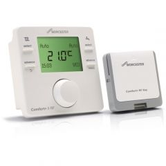 Worcester Comfort+ II RF Wireless Programmable Room Thermostat & Receiver - 7738112324