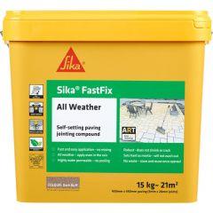 Sika All Weather FastFix Jointing Compound 15kg  Dark Buff - SKFFIXDKBF15