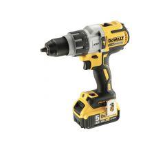 Dewalt 18V XR Brushless Combi Drill with 2 x 5.0Ah Li - DEWDCD996P2