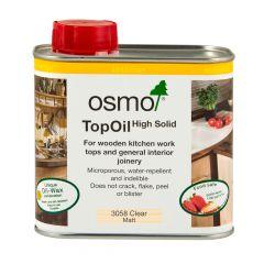 Osmo TopOil Clear Wood Oil – Matt (0.5L) – 3058