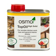 Osmo TopOil Clear Wood Oil – Natural Matt (0.5L) – 3068