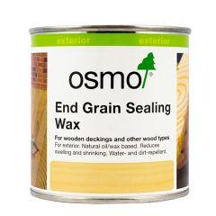 Osmo End Grain Sealing Wax – Clear (0.375L) – 5735