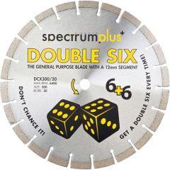 Spectrum DCX115/22 Double Six Plus General Purpose 115mm Diamond Blade