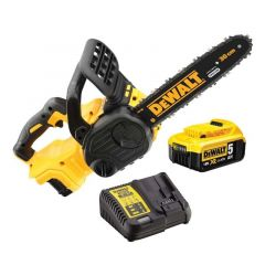 DeWalt Cordless Brushless Chainsaw Kit - 18v 5.0AH - DCM565P1-GB