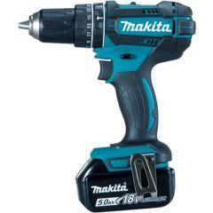 Makita LXT Combi Drill Set 18v -DHP482RM1J