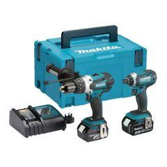 Makita DLX2145TJ Twin Kit (DHP458 & DTD152) c/w 2 x 5AH Batteries ***WHILE STOCKS LAST***
