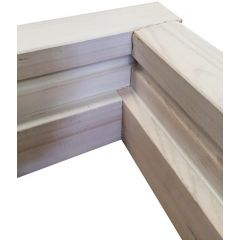 "INTERNAL DOOR CASING SET REDWOOD FOR 2'9"" DOOR"