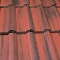 Marley Double Roman Roof Tiles-Old English Smooth