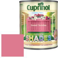 Cuprinol Garden Shades 1 Litre Sweet Sundae