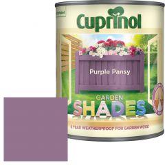 Cuprinol Garden Shades 1 Litre Purple Pansy