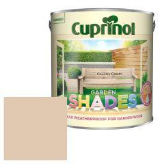 Cuprinol Garden Shades Country Cream 2.5 Litres