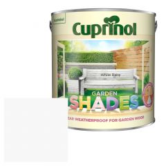 Cuprinol Garden Shades White Daisy 2.5 Litres