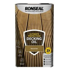 Ronseal Ultimate Protection Decking Oil 5 Litres Natural Oak