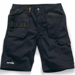 Scruffs Trade Flex Holster Shorts Black