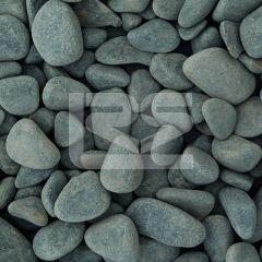 LRS Poly Bag Ebony Black Pebbles 15-40mm