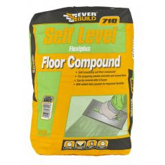 Everbuild Self Level Flexiplus Floor Compound 710 20kg