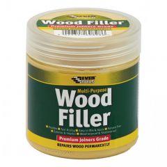 Everbuild Multi Purpose Premium Joiners Grade Wood Filler Light Oak 250ml