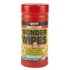 Everbuild Multi-use Wonder Wipes Trade Tub (100 wipes)