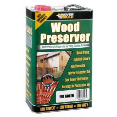 Everbuild Wood Preserver Fir Green 1L