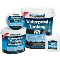Everbuild Aquaseal Wet Room Kit Large 7.5m2