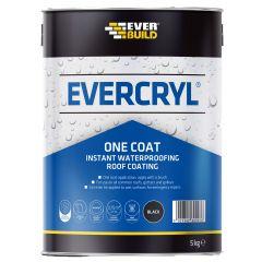 Everbuild Evercryl One Coat Clear 5Kg